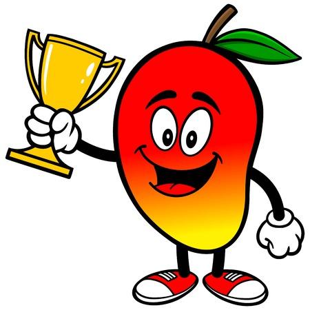 Mango with Trophy