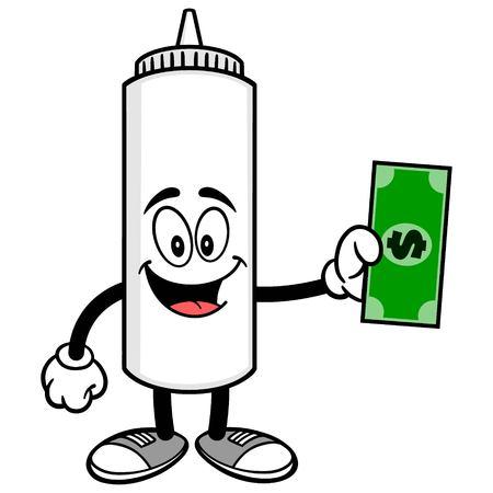 Mayonnaise with a Dollar Ilustração