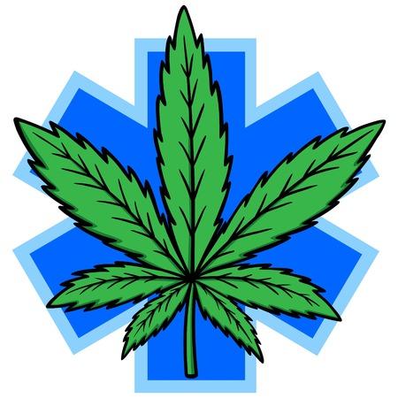 Medical Marijuana Vector Illustration