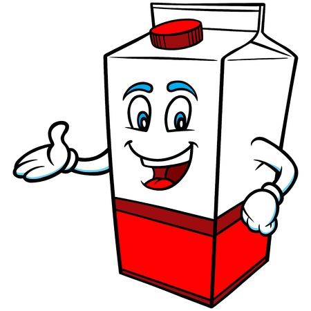 quart: Milk Cartoon