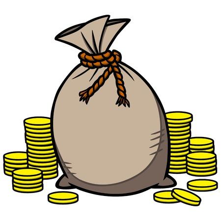money: Money Bag Illustration