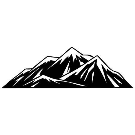 산맥 일러스트