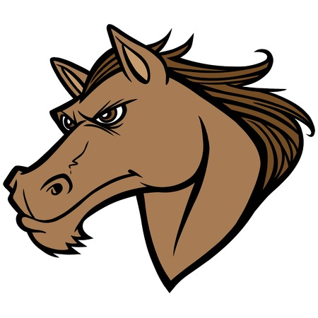 Mustang Head