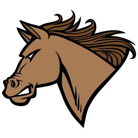 Mustang Mascot Çizim