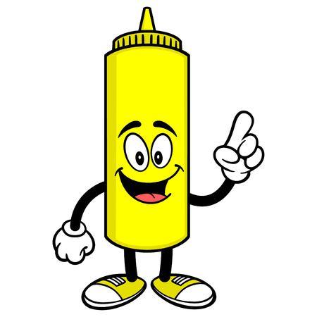 Mustard Talking 向量圖像