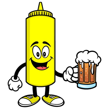 Mustard with a Beer 向量圖像