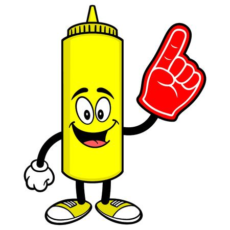 foam: Mustard with a Foam Finger