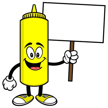 Mustard with a Sign