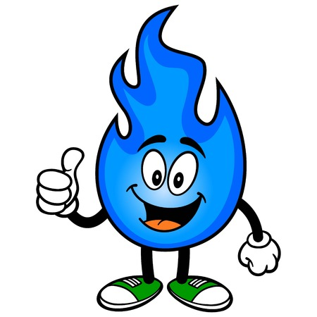 Natural Gas with Thumbs Up