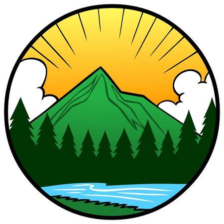 Nature Icon Illustration