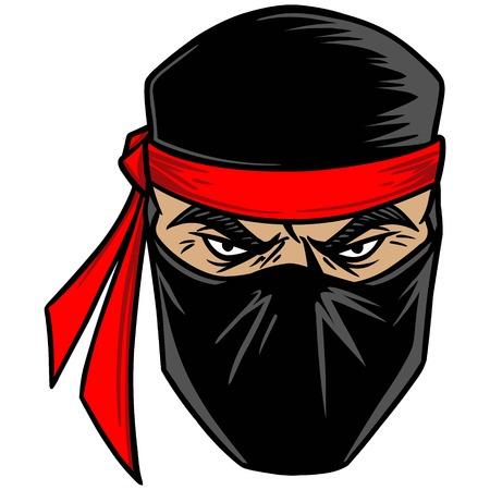 Ninja Ilustração