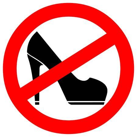 trespassing: No High Heels