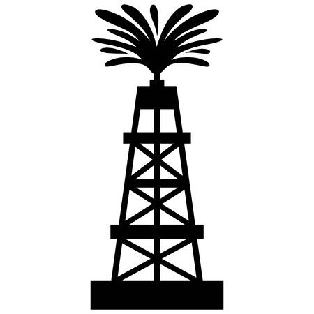 Oil Gusher  イラスト・ベクター素材