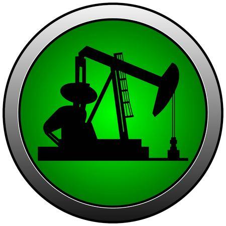 Oil Rig Insignia  イラスト・ベクター素材