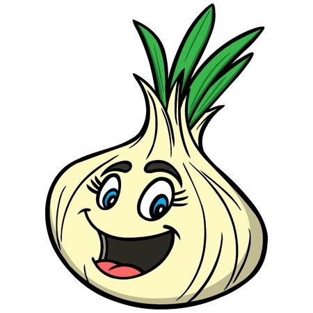 husks: Onion Cartoon