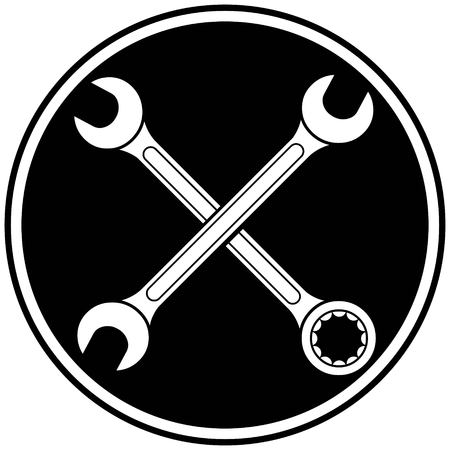 Open Ended Wrench Symbol