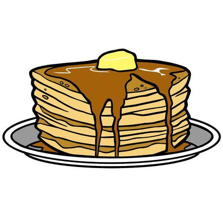 Pancake Party Ilustração