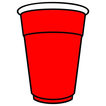 party: Party Cup Illustration