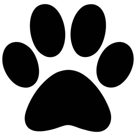 huellas de animales: Paw imprimir