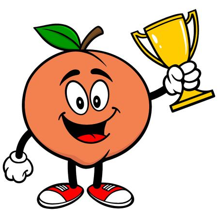 market place: Peach with Trophy