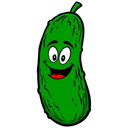Pickle Mascot Vector Illustratie