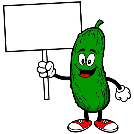 Pickle with Sign