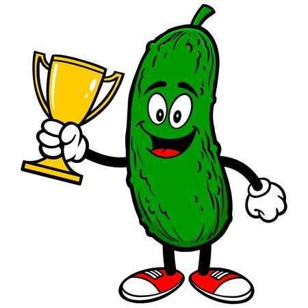 Pickle with Trophy