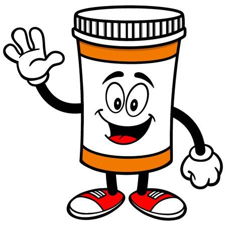 prescription bottles: Pill Bottle Waving