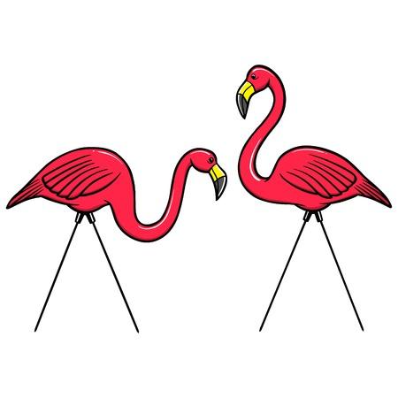 florida flamingo: Pink Flamingos