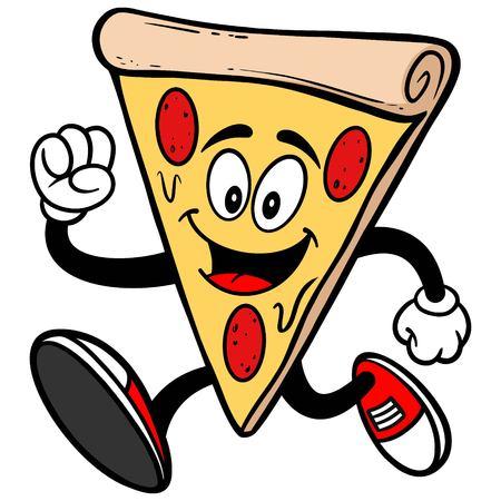 running: Pizza Running