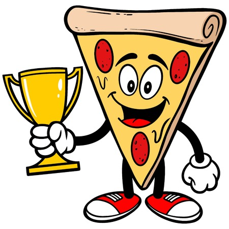 Pizza with Trophy