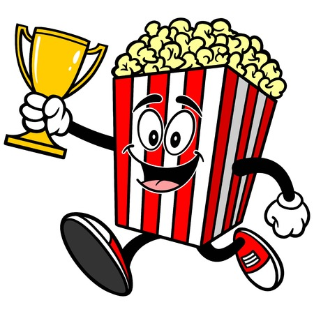 indulgence: Popcorn Running with Trophy
