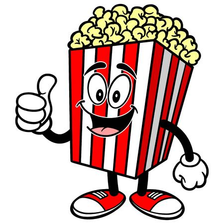 indulgence: Popcorn with Thumbs Up
