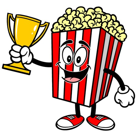 Popcorn with Trophy
