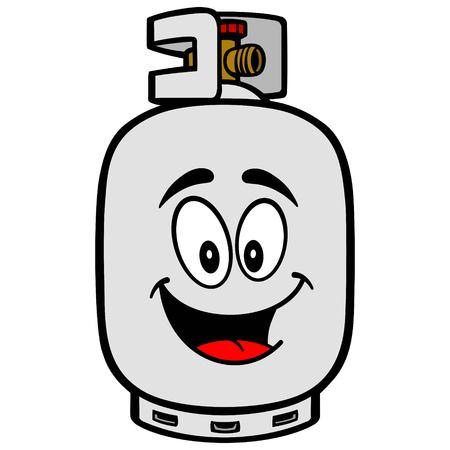 propane tank: Propane Tank Mascot