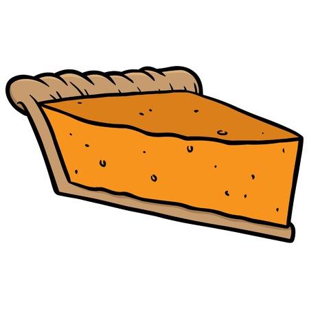 pumpkin pie: Pumpkin Pie Slice