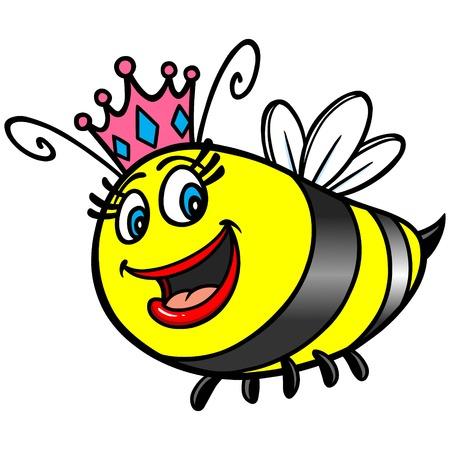 abeja reina: Reina de la historieta de la abeja