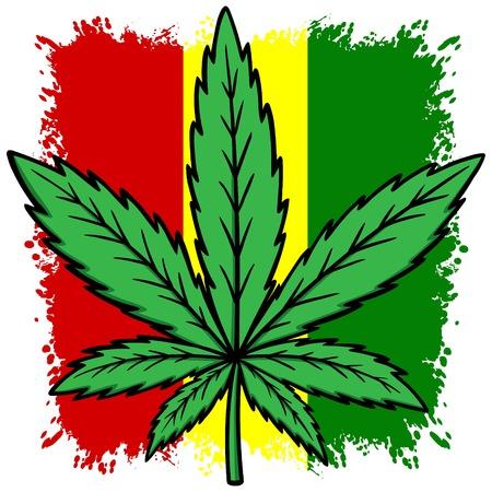 Rasta Flag Illustration