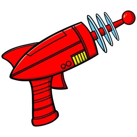 Pistola de rayos