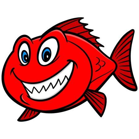 Red Snapper vis Stock Illustratie