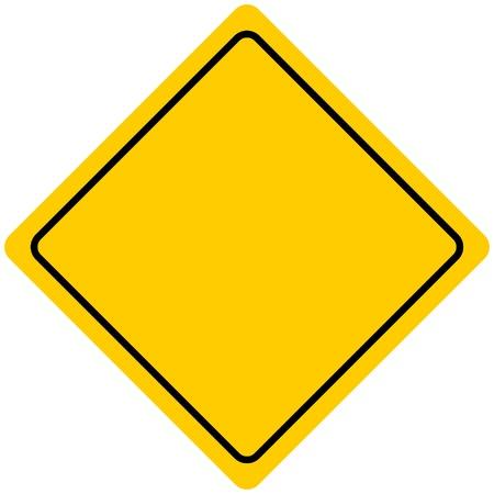warning sign: Road Sign Illustration