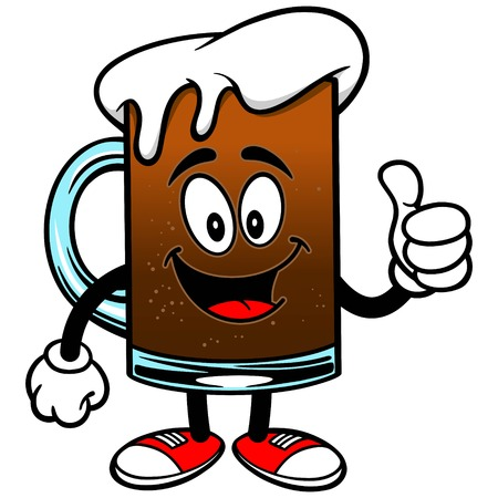 root beer: Root Beer with Thumbs Up