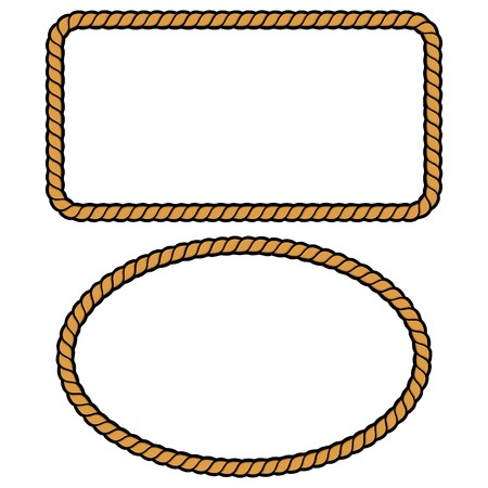 Rope Border Illustrations