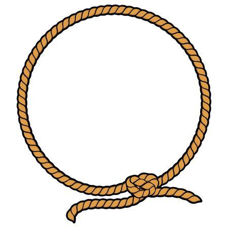 Rope Border Lasso