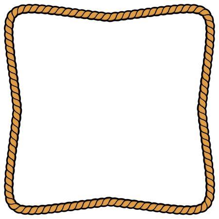 Rope Frame 일러스트