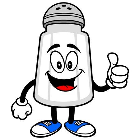salt shaker: Salt Shaker with Thumbs Up
