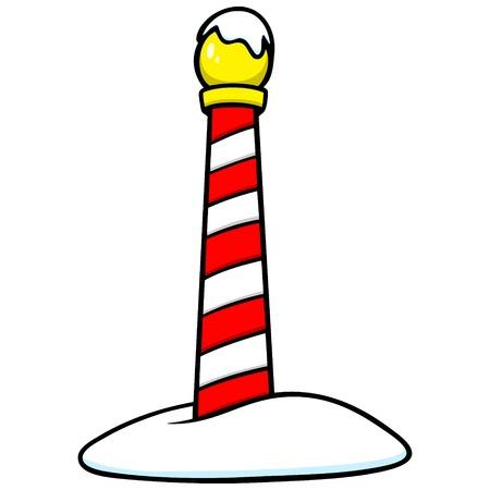 Kerstman Pole