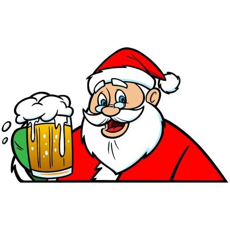 Santa with Beer