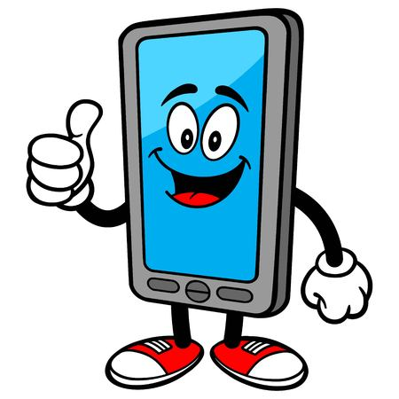 Smartphone with Thumbs Up