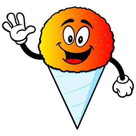 snow cone: Snow Cone Waving
